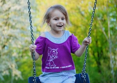 Cambios de la moda infantil para niñas