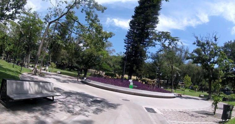 Parque Cuscatlán en San Salvador